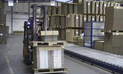 6. Pallets for dispatch or storage